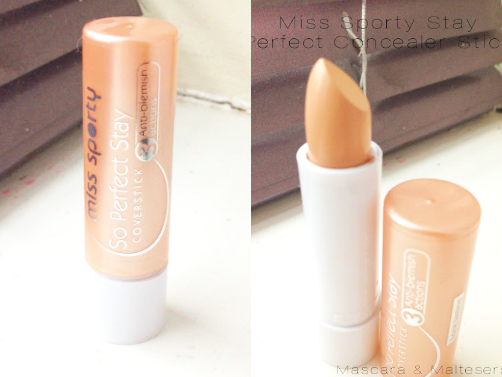 Miss Sporty Stay Perfect Concealer Stick Review