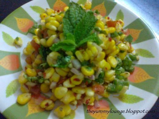 How to make simple easy homemade corn salsa recipe