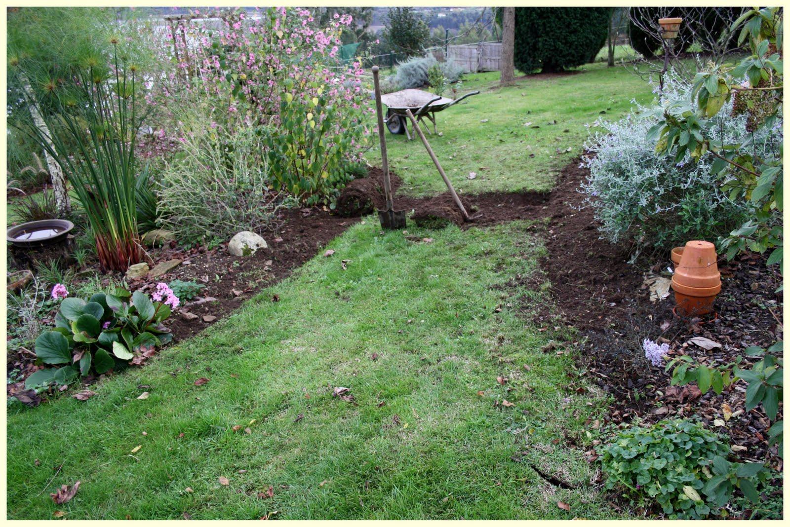 El jard n de margarita como allanar un terreno inclinado - Ideas para jardines pequenos fotos ...