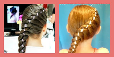 diagonal ribbon braid