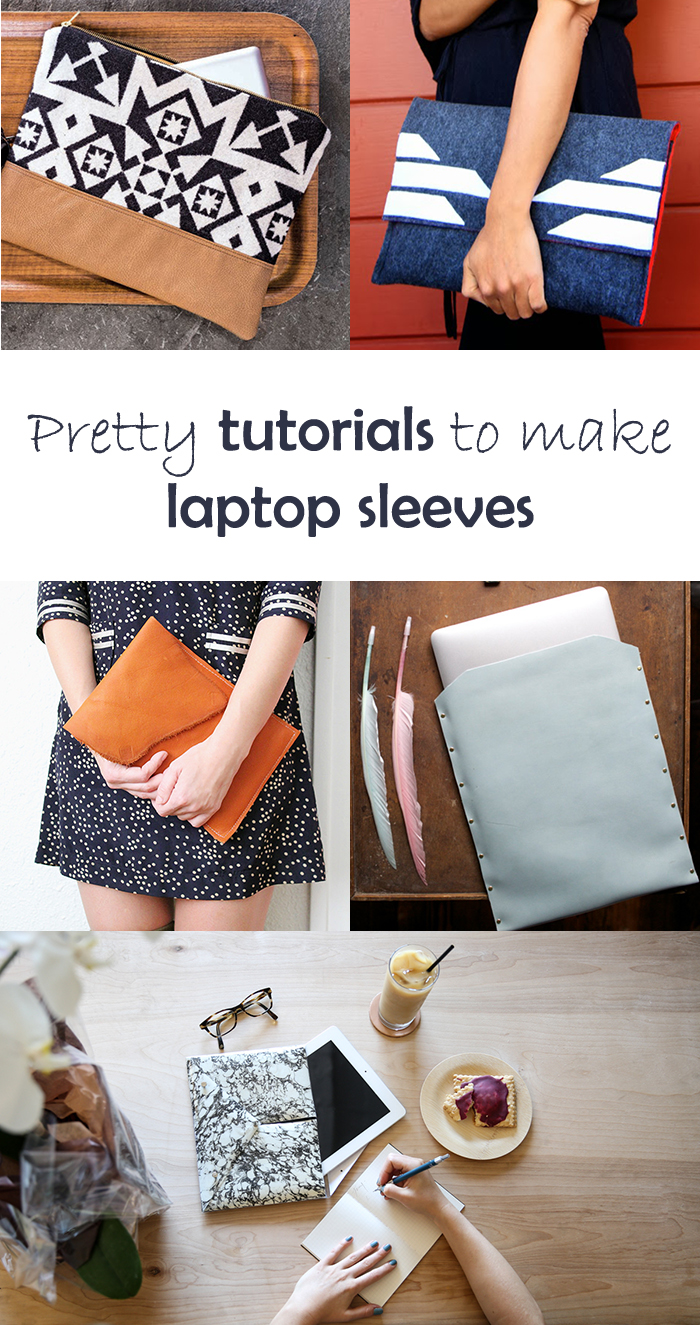 5 DIY to try # laptop sleeve