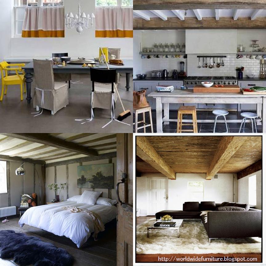 Modern Rustic Interior Design: All About Home Decoration & Furniture: Modern & Rustic