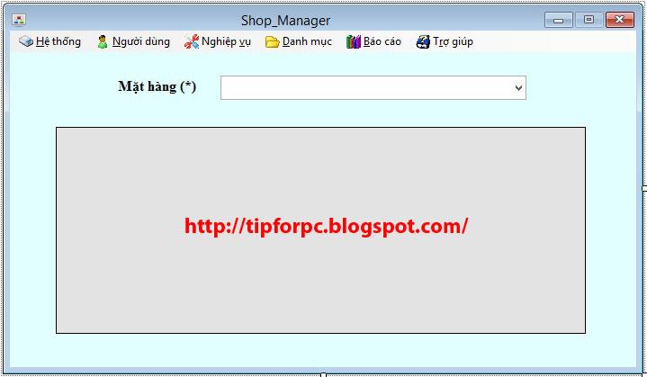 [Source C#] - Mã nguồn Phần Mềm Quản lý bán hàng 1