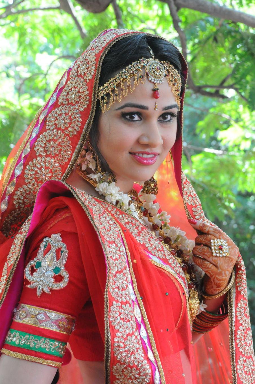 gorgeous Nisha kotari in indian bridal look
