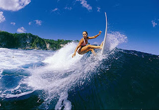 Island Surfing Watersport Island Bali Indonesia