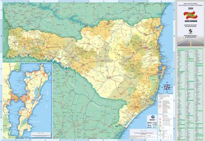 Download Mapas Rodoviários do Sul