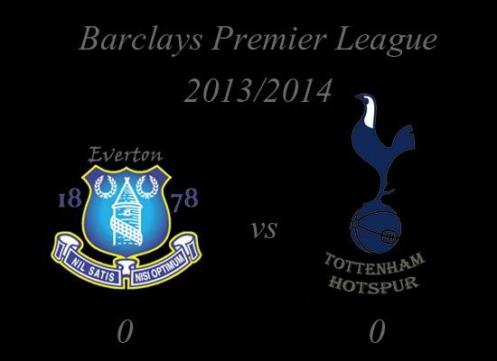 Barclays Premier League : Everton (2) vs (0) Tottenham Hotspurs