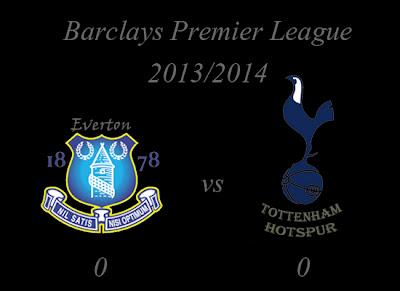 Everton vs Tottenham Hotspurs Barclays Premier League 2013
