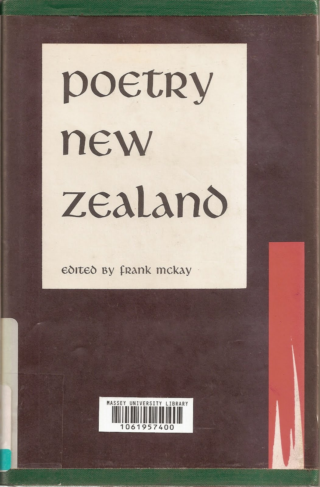Poetry New Zealand 1 (1971)