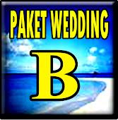 WEDDING PAKET B