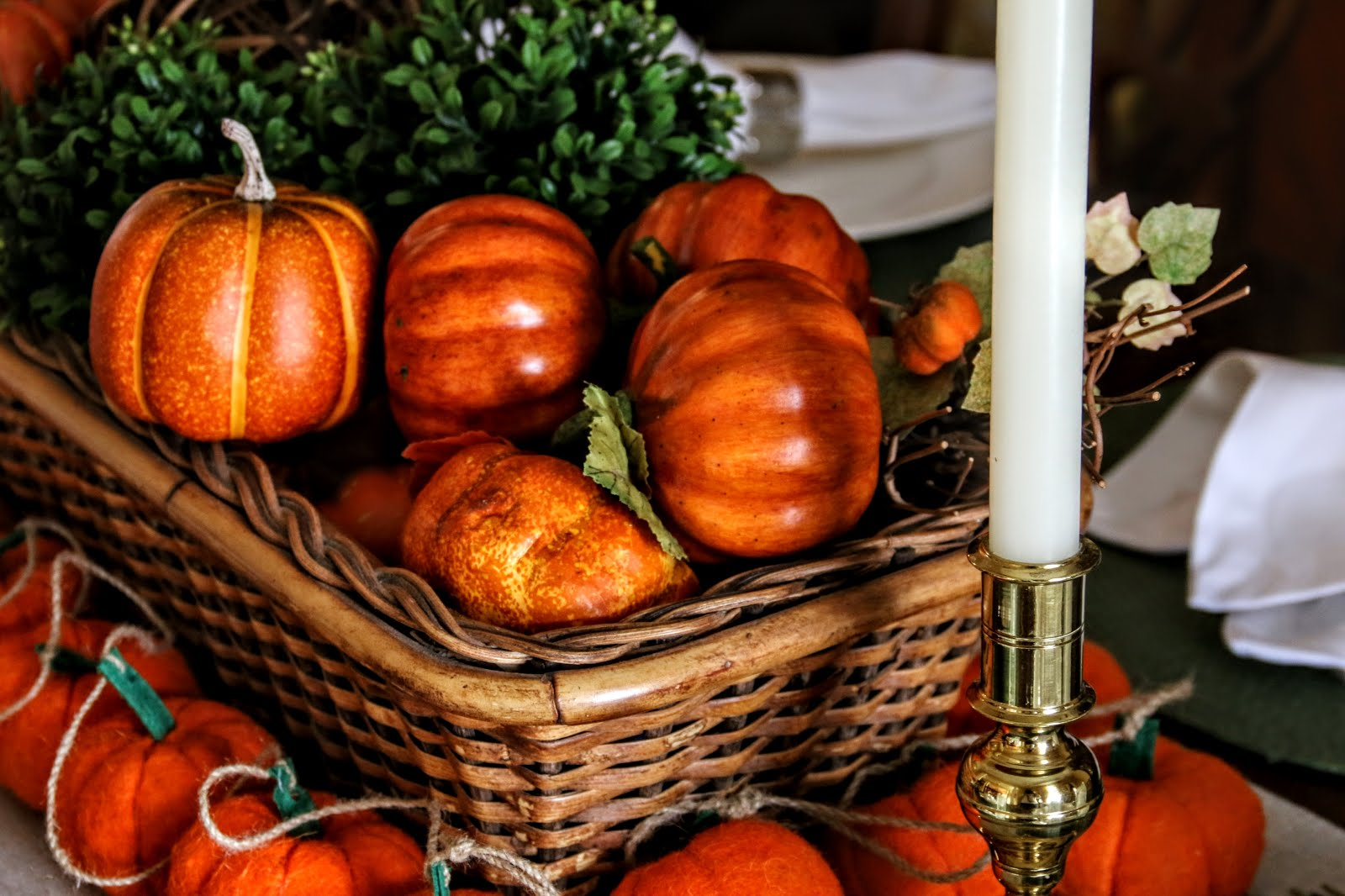 A Fall Tablescape