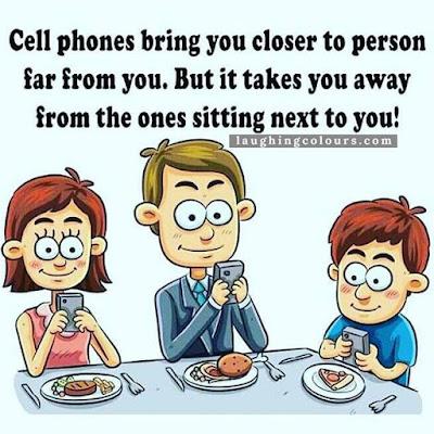 dekat tapi jauh, kesan penggunaan smartphone