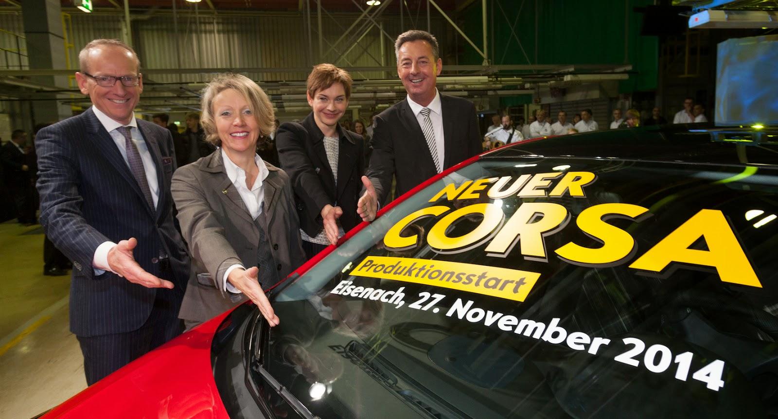 Produktionsstart für den neuen Corsa im Opel-Werk Eisenach | Fahrspass24