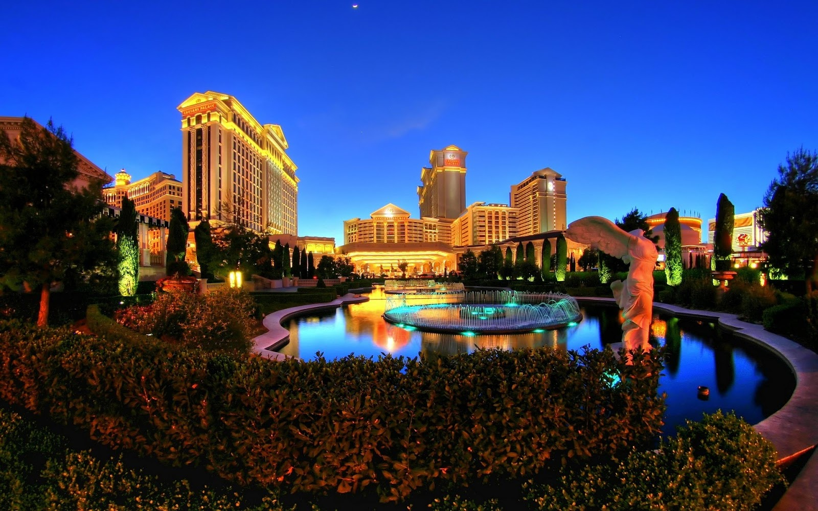 Ceasars Palace in Las Vegas