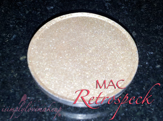 MAC Retrospeck Eyeshadow Swatches Review