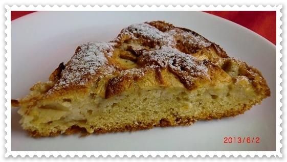 Ciasto jabłkowo cynamonowe
