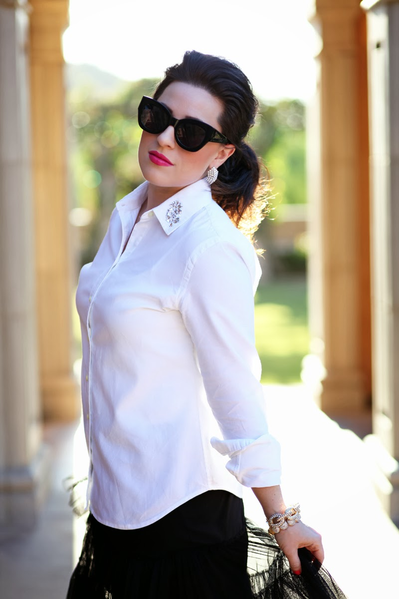 karen-walker-northern-lights-sunglasses-san-diego-style-blogger-king-and-kind-banana-republic-white-button-up