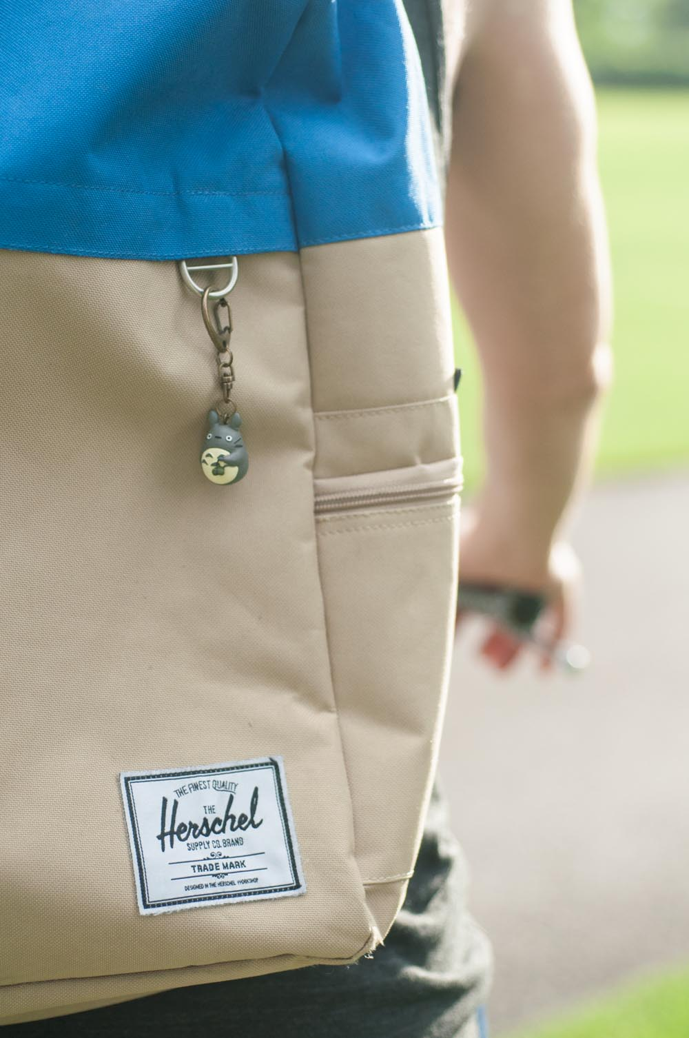Herschel Supply Co. Navy and Cream Backpack