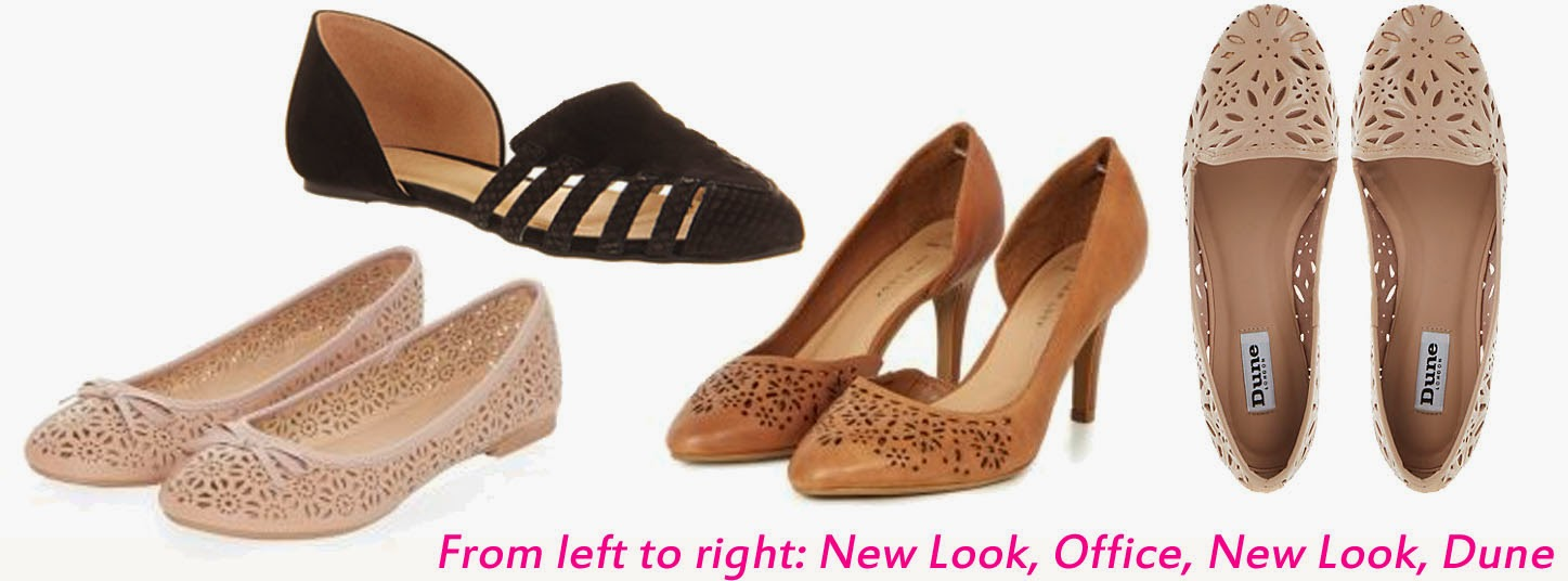 summer fashion corporate workwear office blog style new look dune shoes