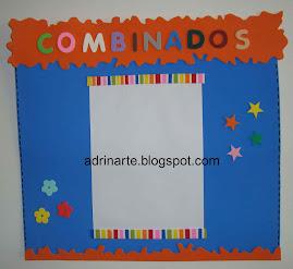 Cartaz combinados simples(para uma folha de papel A4)