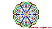 Colour Floral shape art designs patterns.