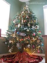 Hippie Christmas Tree