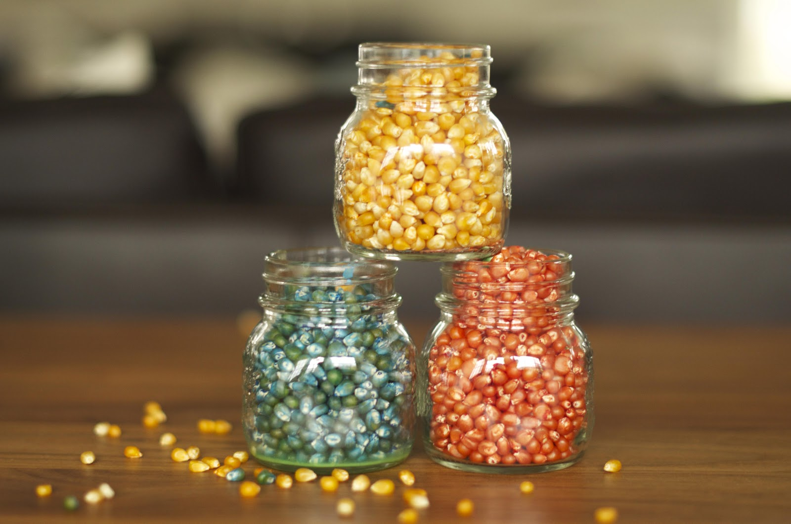multi colored popcorn kernels - Pop Corn Color