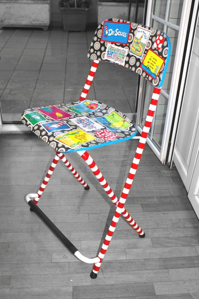 Seussing A Bar Stool Into A Baby High Chair Ikea Hackers