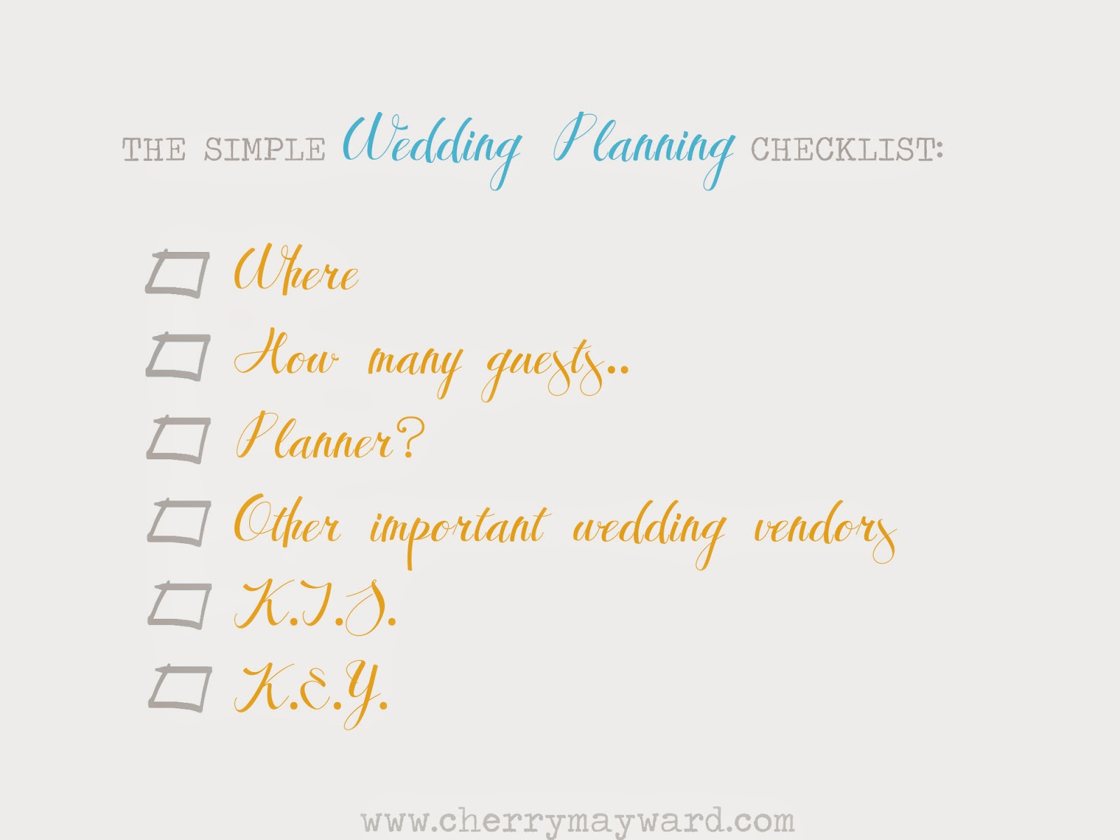 the simple wedding planning checklist, wedding planning checklist, wedding planning ideas, where to start with your wedding planning, how to make wedding planning simple and easy,