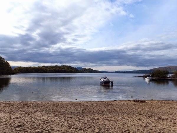 écosse scotland highlands loch lomond balmaha inchcailloch