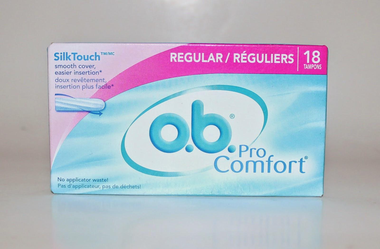 o.b. Pro Comfort Tampons