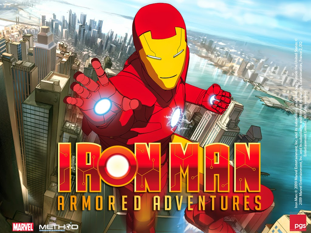 Anime total iron man aventuras de hierro lat