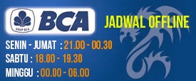 JADWAL OFFLINE BCA