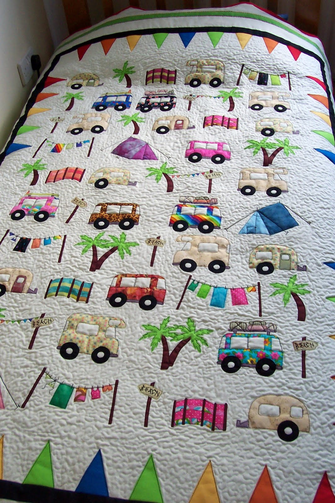 House Of Spoon Camping Quilt Babyroom 1