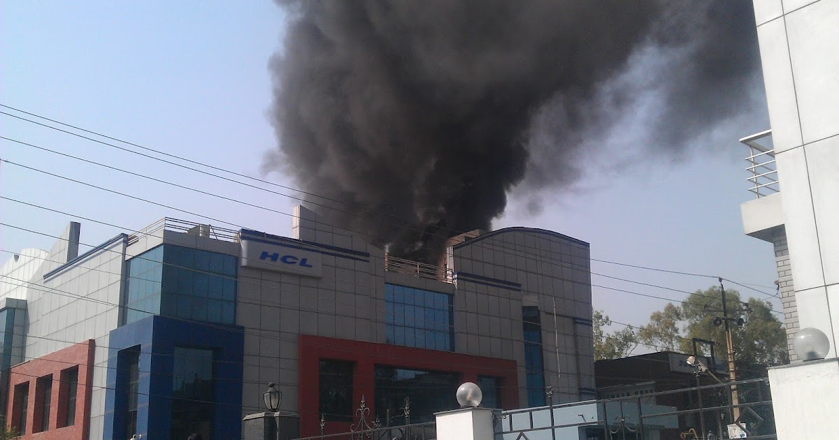 Image Of Building On Fire