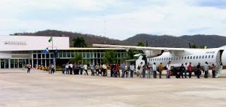 Aeroporto de Corumbá-MS. Foto da prefeitura de Corumbá