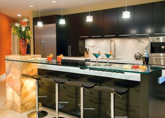 Gambar lemari dapur gantung minimalis