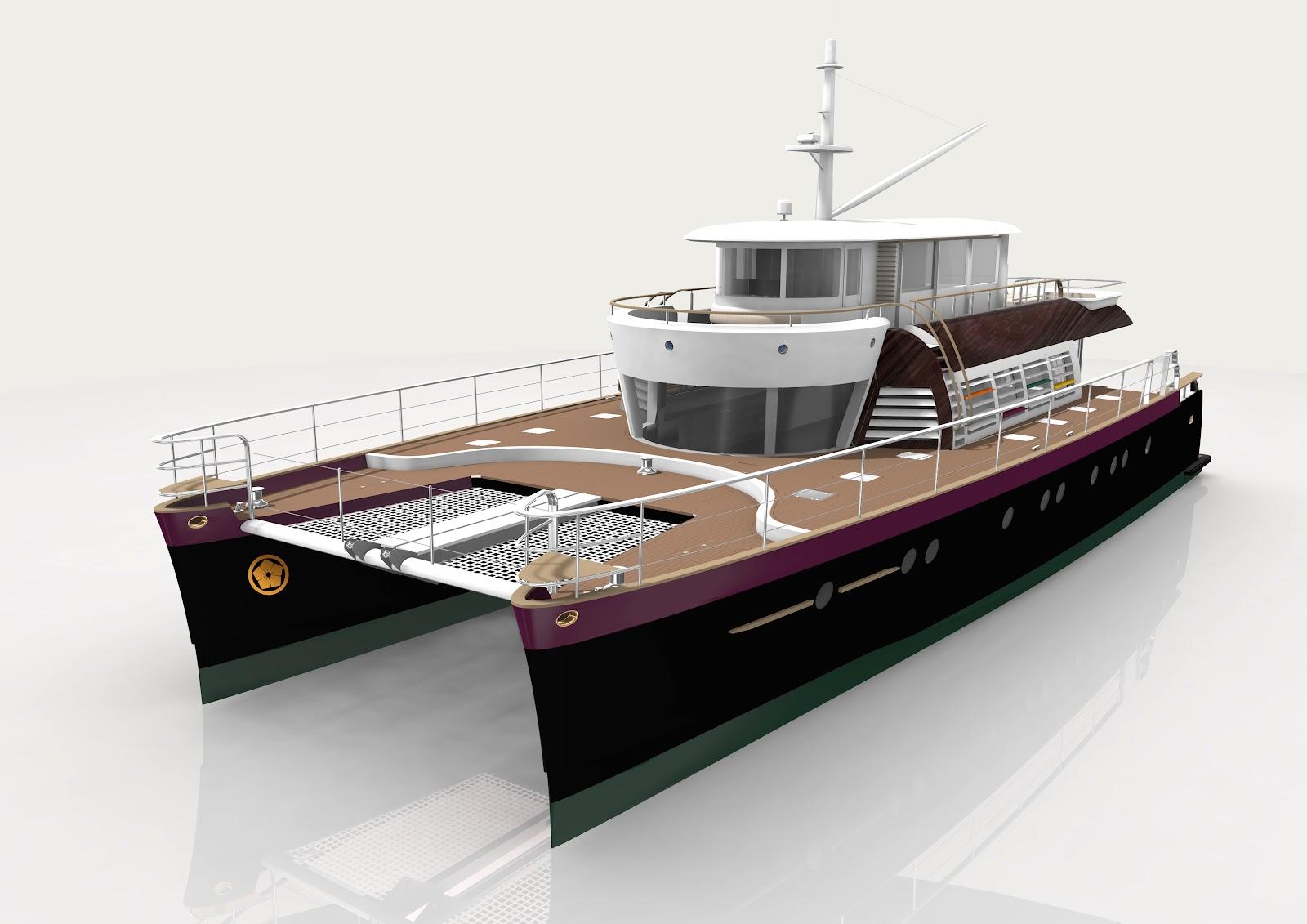 Luxury Catamaran NOAH LUXURY CATAMARAN BY KENZO