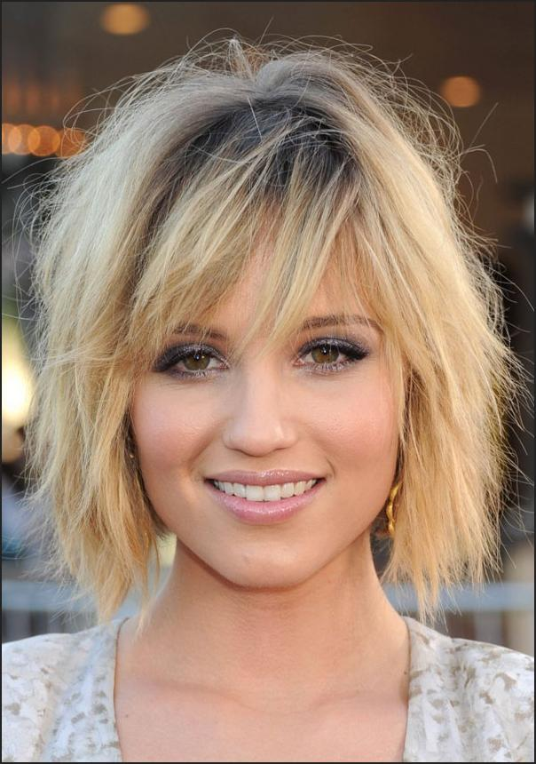 How to cut shoulder length layered Bob haircut! Celebrity ...