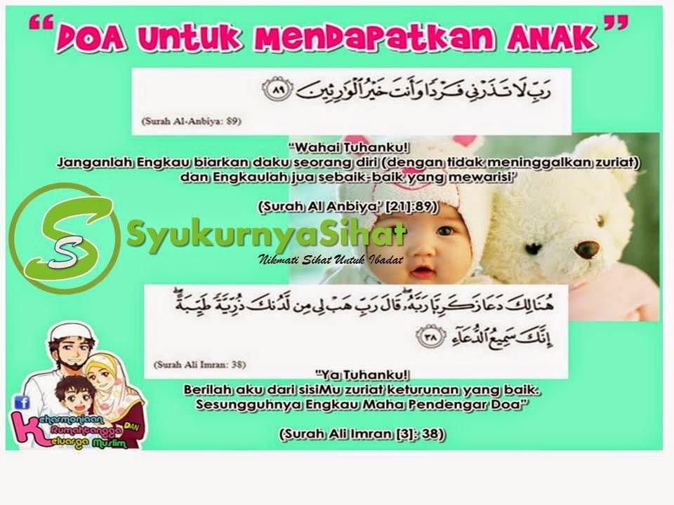 Doa untuk mendapatkan anak, produk shaklee