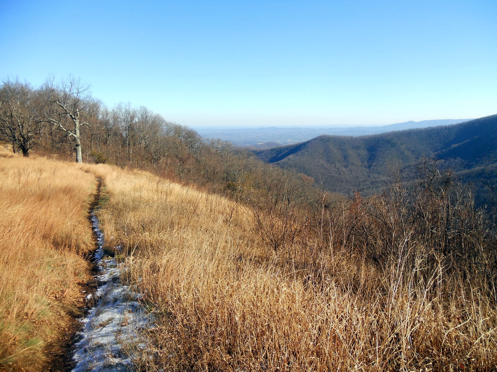 Hiking With A Fat Bald White Guy Rocky Knob On The Blue