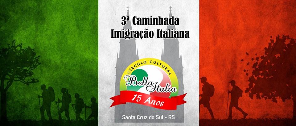 Caminhada Imigração Italiana