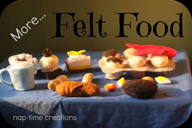 felt food