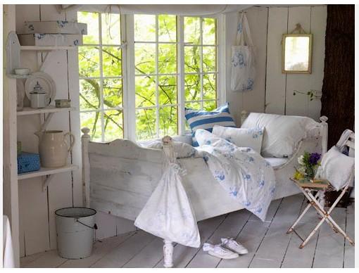Mooi Slaapkamer Idees : Blijft een mooie combi, veel wit met blauw ...