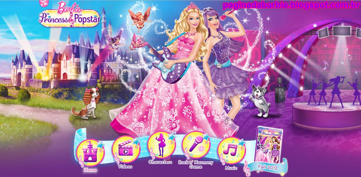 Barbie A Princesa E Popstar Site