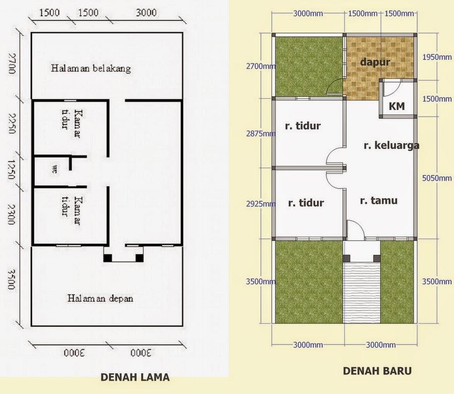 Cara Membuat Konsep Denah Rumah Sederhana Serta Contohnya Kumpulan