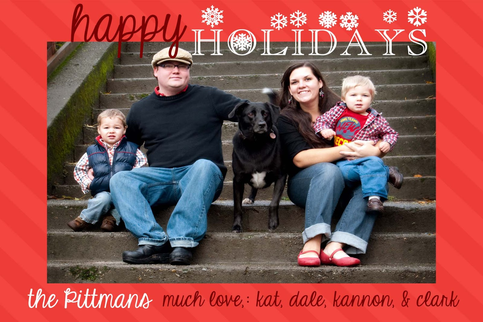 free christmas card template - Free Christmas Card Templates For Photographers