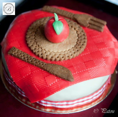 Briochine cake design Paris