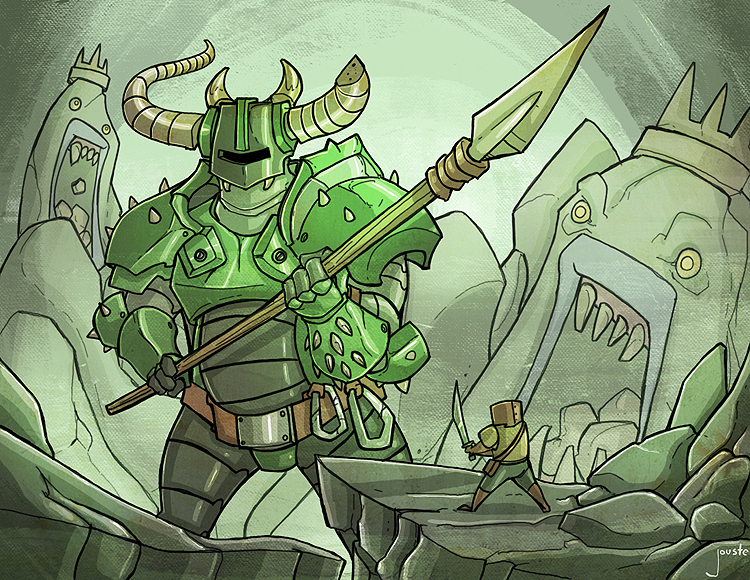 chibi knight the green knight