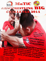 MaTiC ARMWRESTLING BIG CHALLENGE  2014    ON   1 NOVEMBER 2014.
